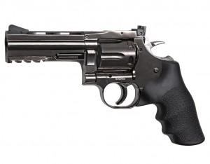 "Rewolwer Dan Wesson 715 4"" BB 4,5 mm - steel grey (18611)"